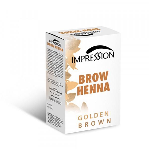 IMPRESSION BROW HENA GOLDEN BROWN 10g