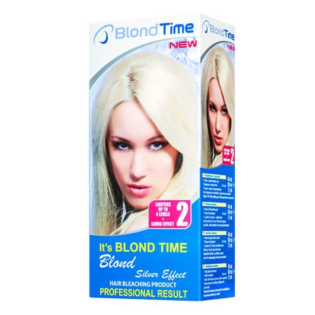 BLOND TIME boja za kosu br2 silver