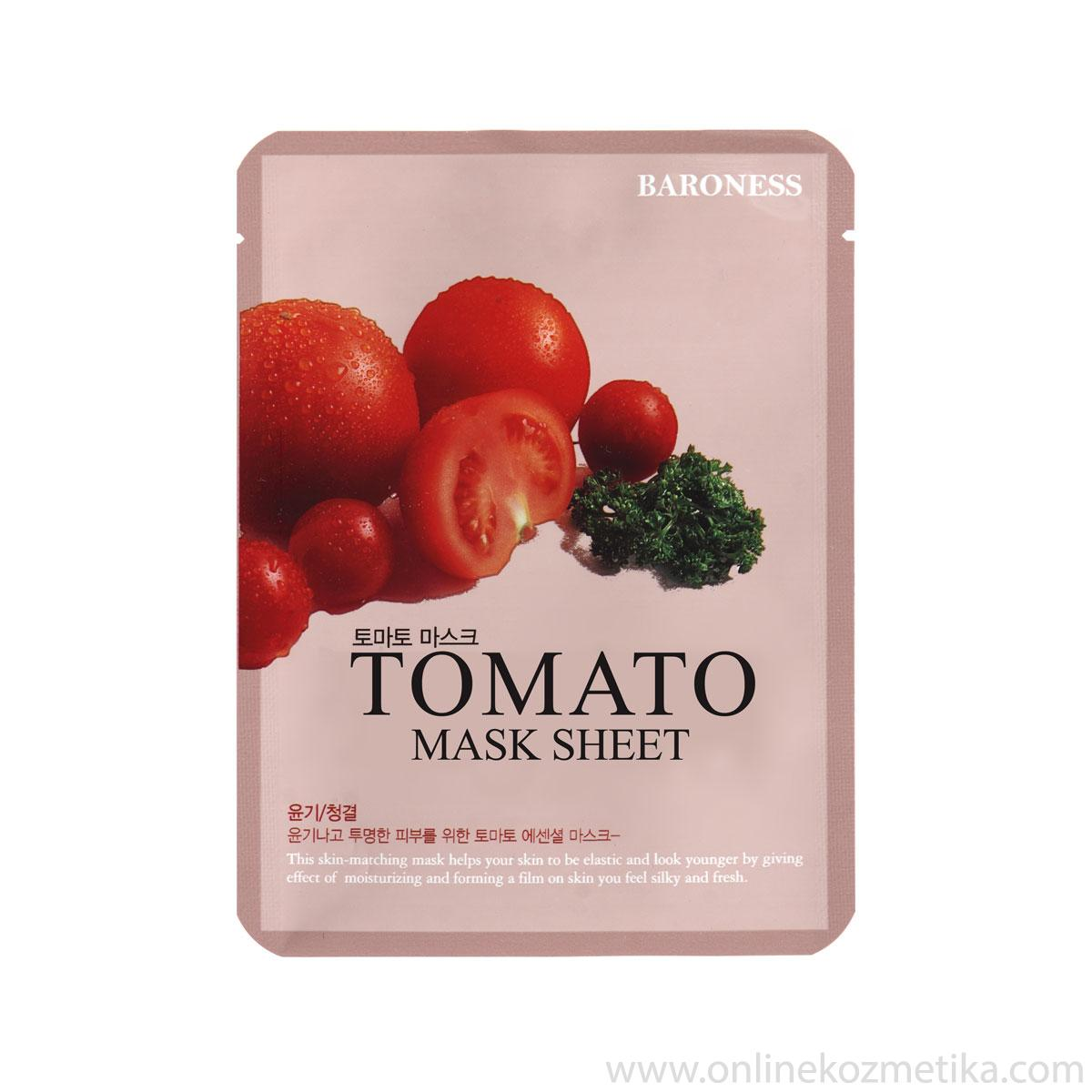 BARONESS MASK SHEET TOMATO