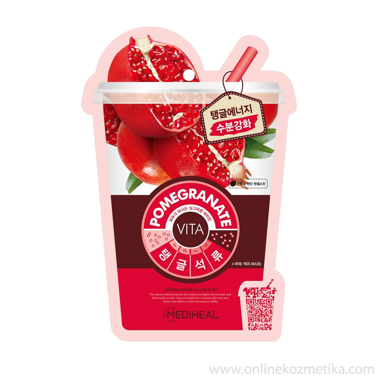 Mediheal Vita Mask Pomegranate