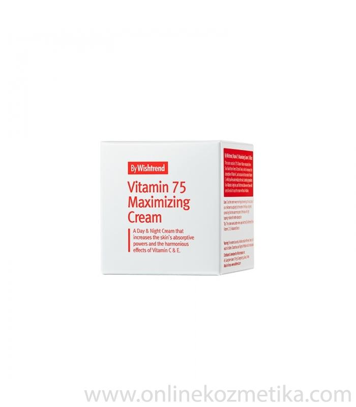 BY WISHTREND Vit 75 Maximizing Cream 50ml