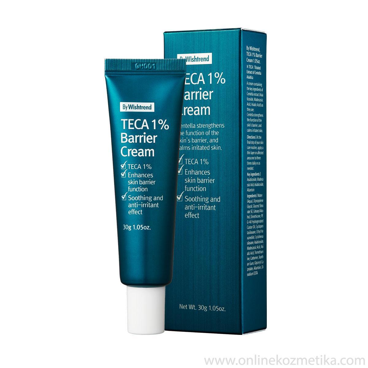 BY WISHTREND Teca 1% Barrier Cream 30ml