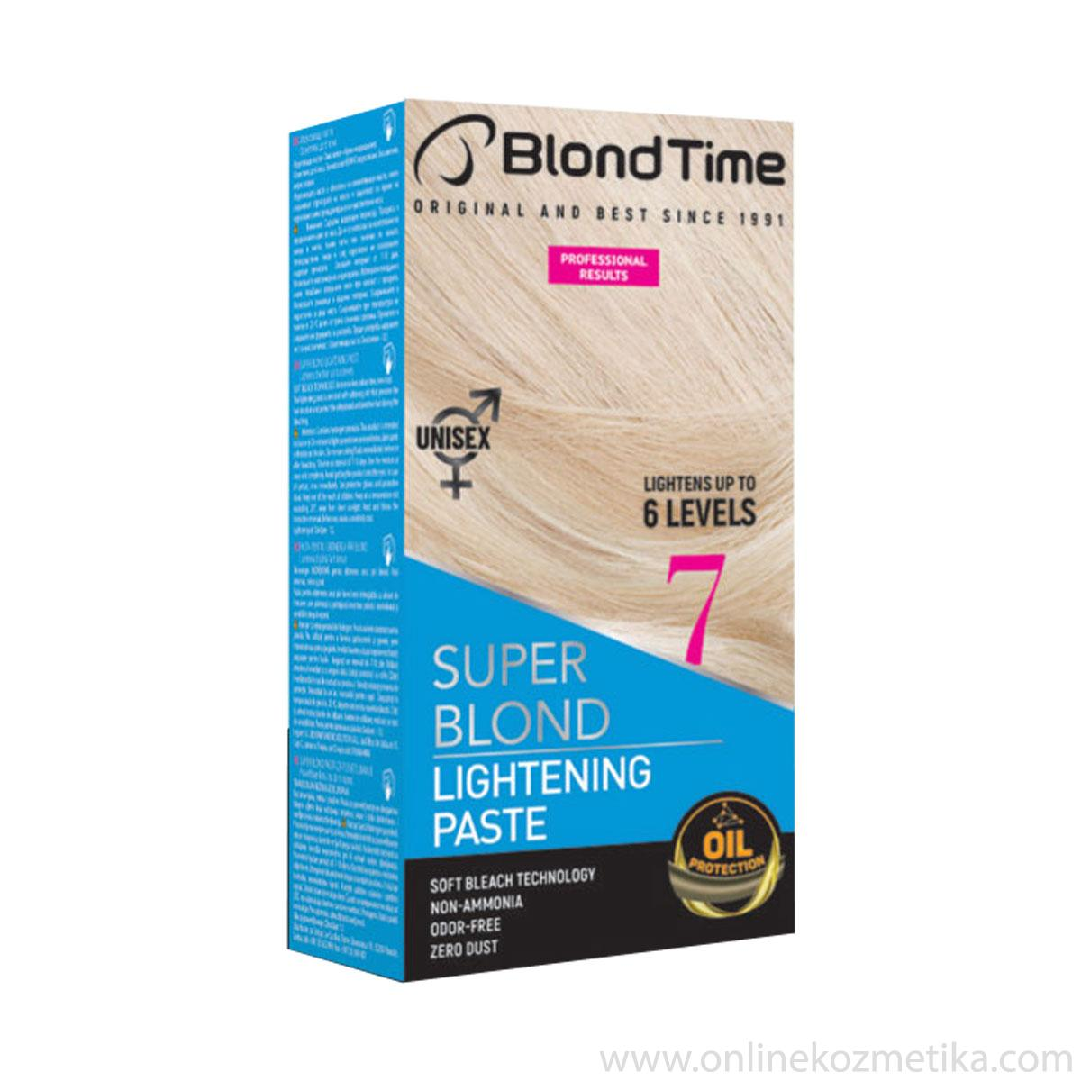 BLOND TIME Lightening Paste (7)NEW