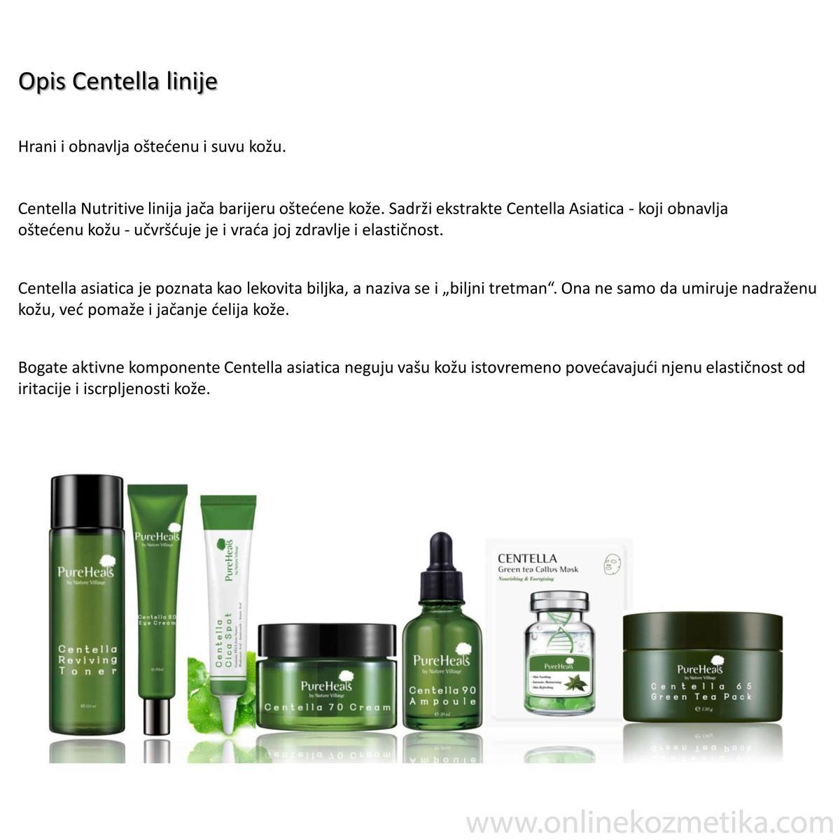 Pureheals Centella Green Tea Callus Mask 25gr