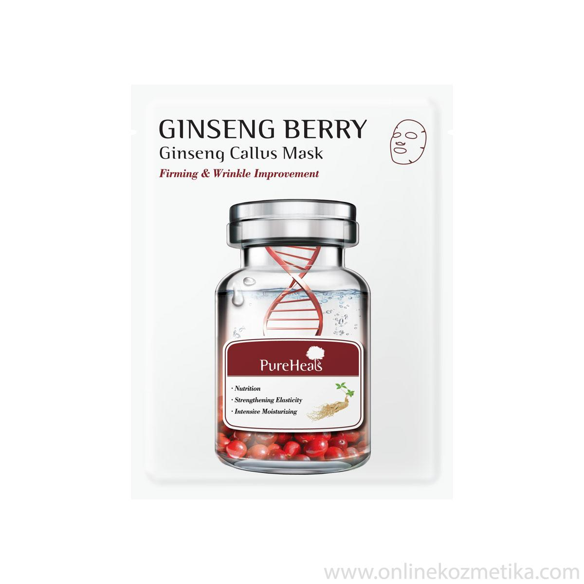 Pureheals Ginseng Berry Ginseng Callus Mask 25gr