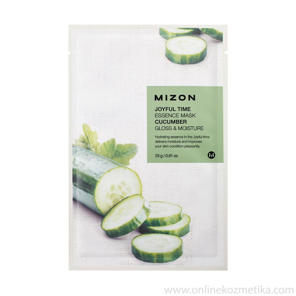 Mizon Joyful Time Essence Mask Cucumber 23 gr
