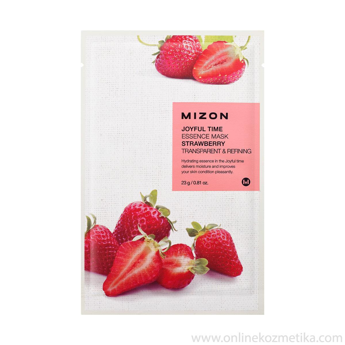 Mizon Joyful Time Essence Mask Strawberry 23 gr