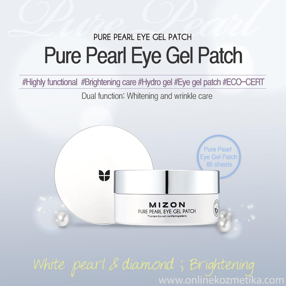 Mizon Pure Pearl Eye Gel Patch