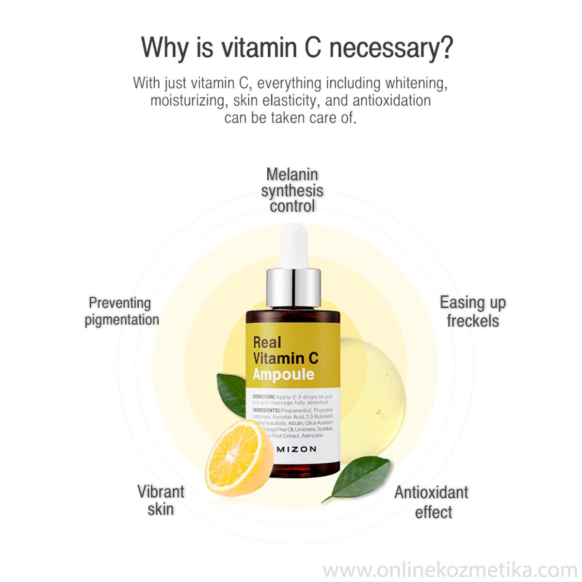 Mizon Real Vitamin C  Ampoule 30 ml