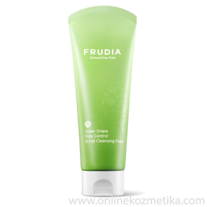 Frudia Green Grape Pore Control Scrub Cleansing Foam 145ml